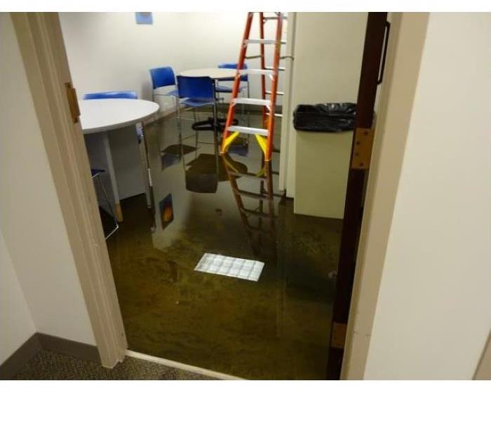 Pipes Burst in Offices Too