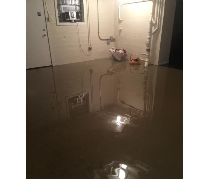 Winnetka Basement Flood