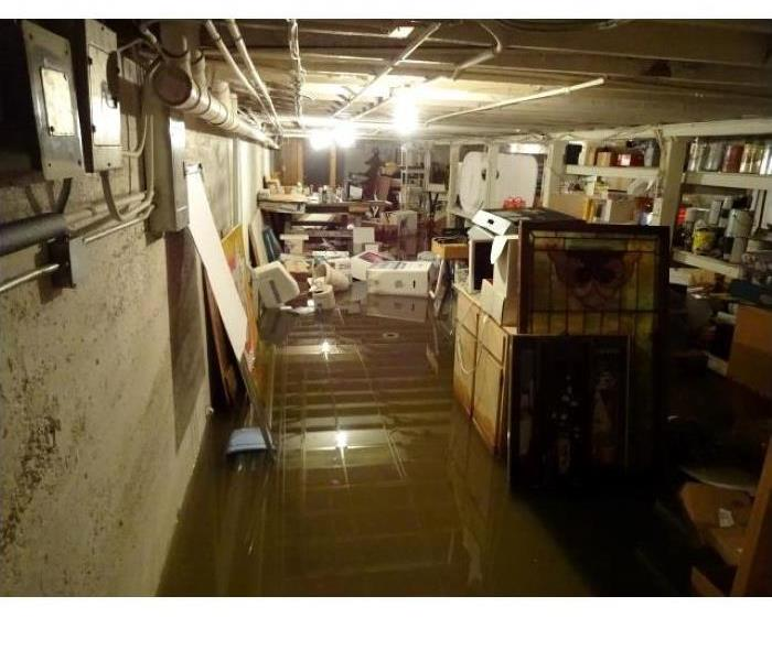 Storms Flood Office Storage